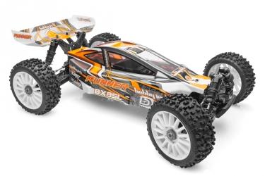 RTR Buggy SL RUNNER 4WD včetně NiMH aku (oranžová)
