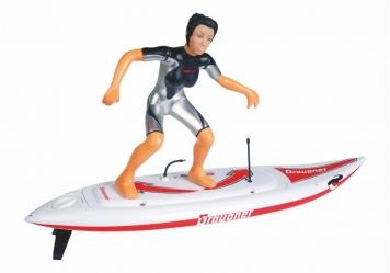 Surfařka na prkně 660 mm, RC set 2,4 GHz
