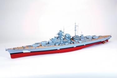 Bitevní loď BISMARCK (bez maskování)