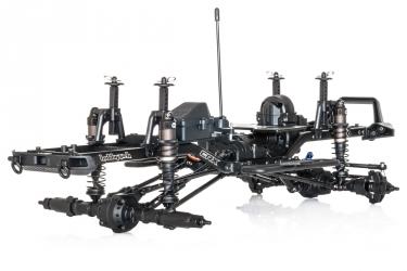 CRX šasi V1 stavebnice bez karoserie a motoru (12.8 - 325mm)