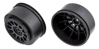 SC disky černý, 12mm unašeš, černý, 2 ks.