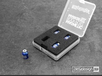 Označovací sada pro 1/10 karoserie - modrá
