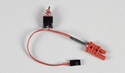 Přijímačový vypínač s FG G2 konektorem/JR-Graupner konektorem 1ks.