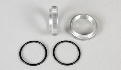 Alu nastavitelné kroužky tlumičů M20x1, 2ks.