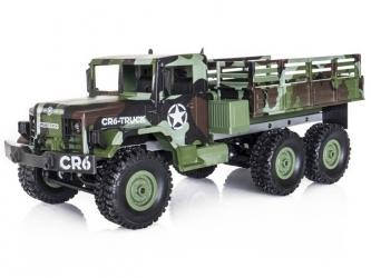 FUNTEK CR6 1/16 RTR 6x6 - zelená maskovací barva
