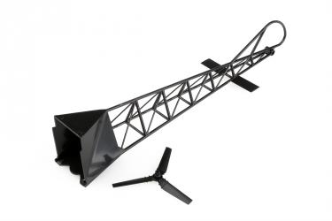 LRP SkyChopper - zadní trubka včetně zadního rotoru