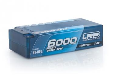 P5-HV Shorty Stock Spec GRAPHENE 6000mAh Hardcase - 7,6V - 120C/60C