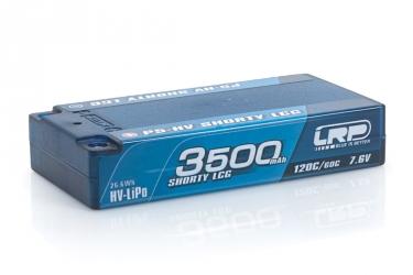 P5-HV Shorty LCG GRAPHENE 3500mAh Hardcase - 7,6V - 120C/60C