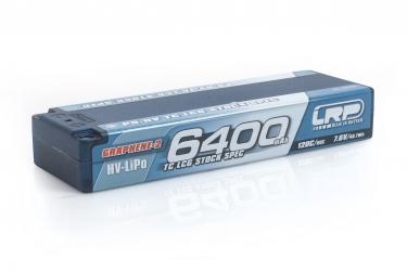 P5-HV TC LCG Stock Spec GRAPHENE-2 6400mAh Hardcase - 7,6V - 120C/60C