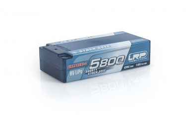 P5-HV Shorty Stock Spec GRAPHENE-2 5800mAh Hardcase - 7,6V - 120C/60C