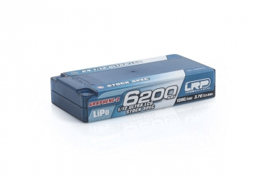 P4 1/12 Ultra LCG Stock Spec GRAPHENE-2 6200mAh Hardcase battery - 3.7V LiPo - 120C/60C