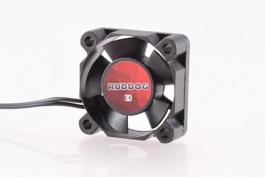 RUDDOG větráček 30x30mm s 240mm černým kabelem a JR konektorem
