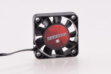 RUDDOG větráček 40x40mm s 240mm černým kabelem a JR konektorem