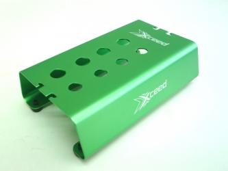 Car-stojánek alu zelený s mech. protiskluz. proužky pro 1/10 OFF ROAD podvozky